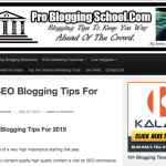 Best SEO Blogging Tips For 2015